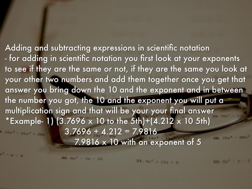 Scientific notation by lizzie guerrero 3 falaconquin