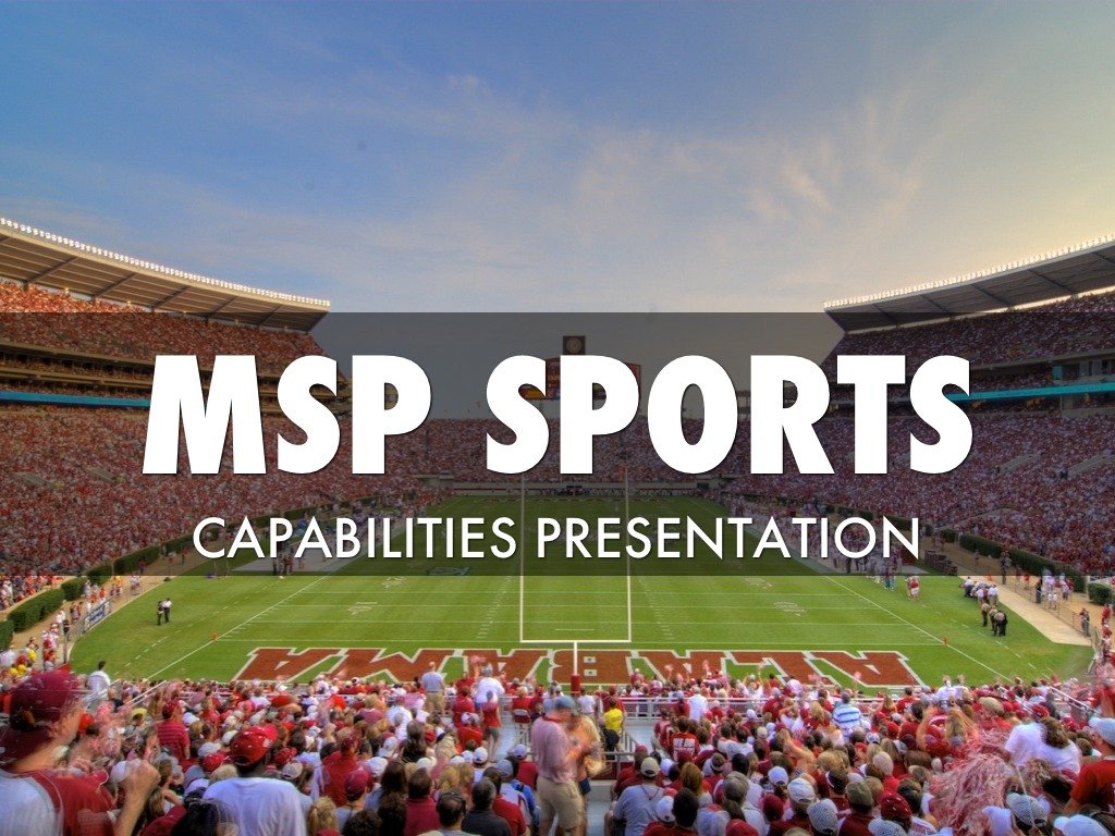 MSP Sports Property Consulting Overview