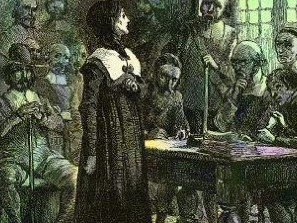 anne hutchinson and her fight in the antinomian controversy As a story, as the star of the antinomian controversy, however, anne hutchinson becomes a token in  anne hutchinson and her family arrived in boston.