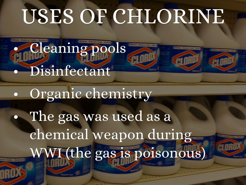 is chlorine an element