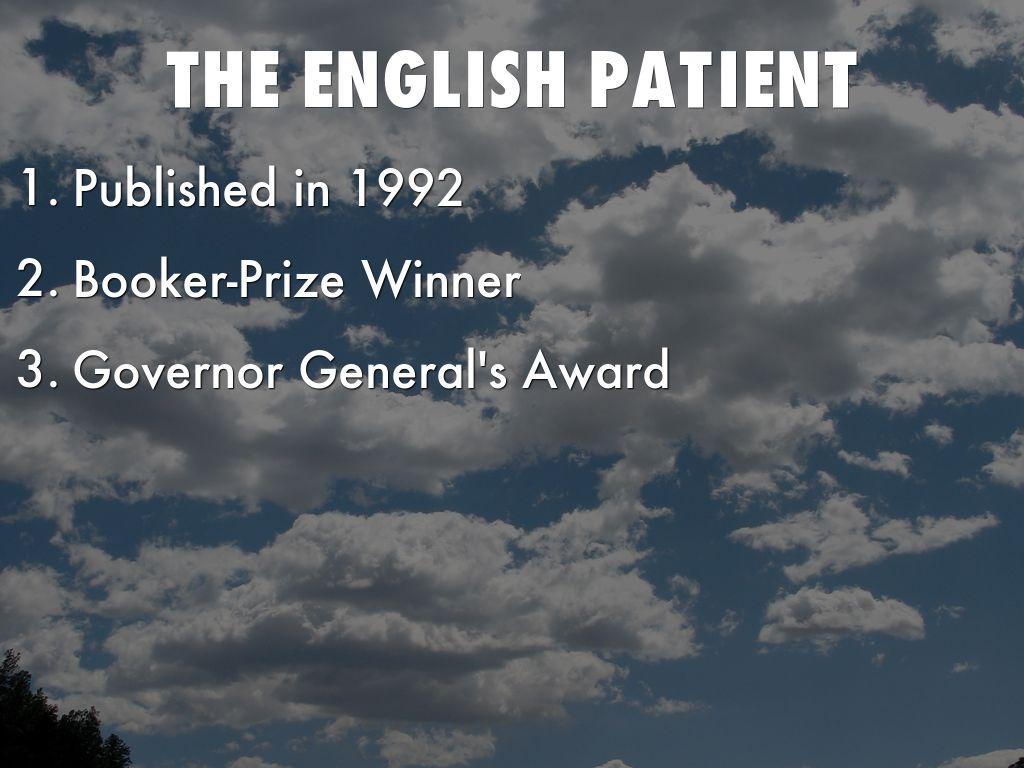 Presentation on chiaroscuro the english patient