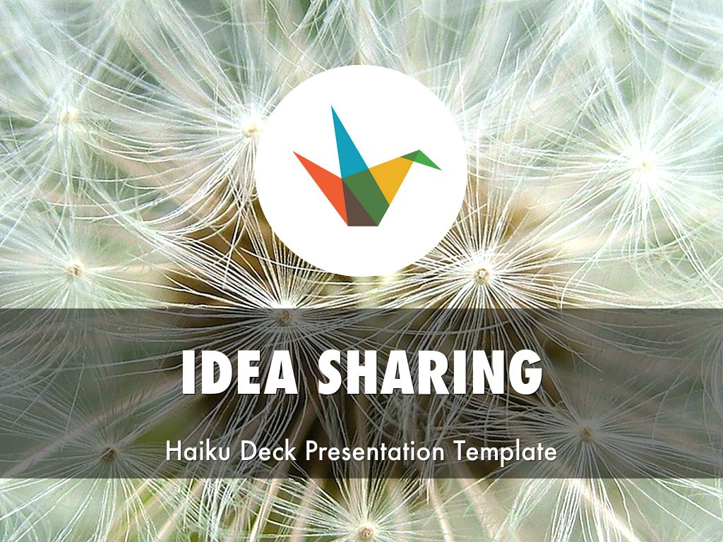 Idea Sharing Presentation Template 的副本