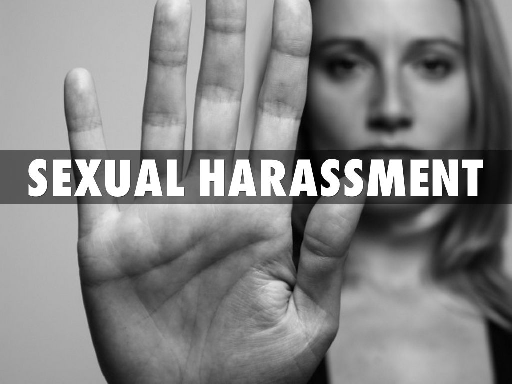 Harassment information sexual opinion