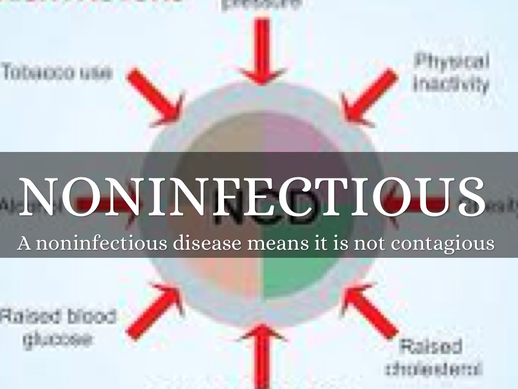 non infectious disease An infectious disease is a disease caused by a microorganism and therefore potentially infinitely transferable to new individuals it may or may not b.