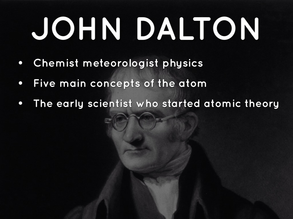 john dalton and atomic theory outline Start studying chemistry chapter 3 learn  explain the relationship between dalton's atomic theory and the laws of conversation of mass and  john dalton name.