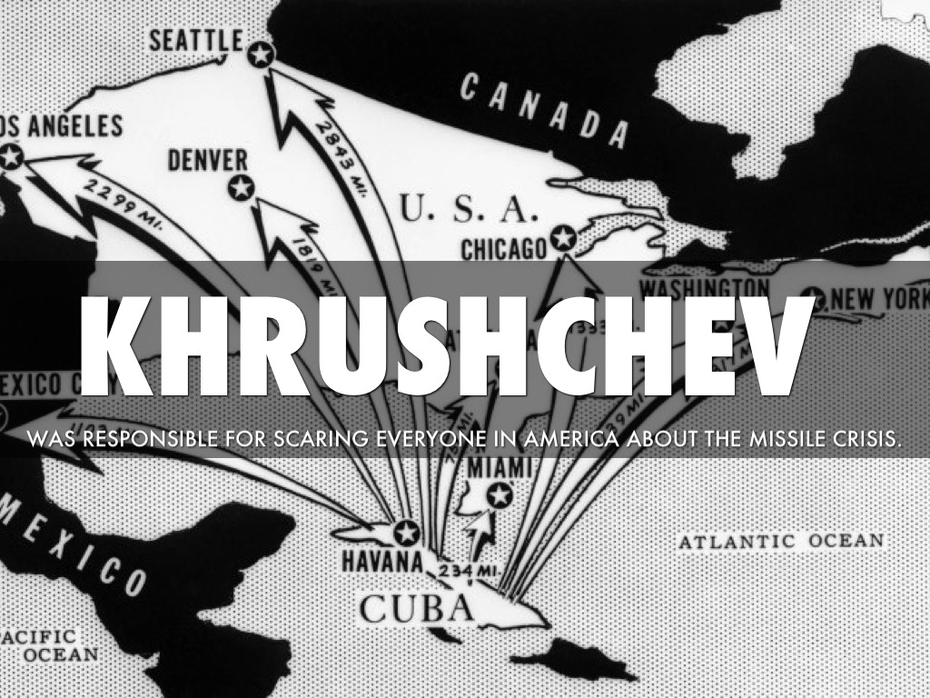 the relevance of nikita khrushchev with the cuban missile crisis Find out more about the history of cuban missile crisis, including videos soviet leader nikita khrushchev had gambled on sending the missiles to cuba with the.