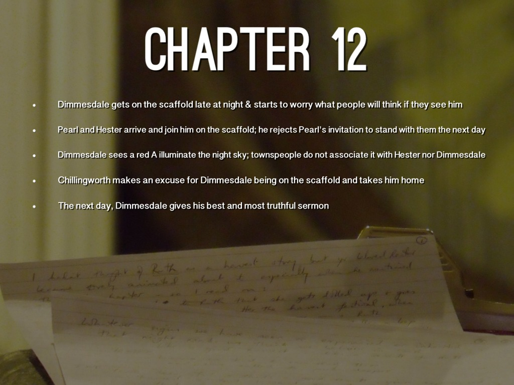scarlet letter chapter 13 summary the scarlet letter by alyssa brockman 24733 | F0FE2F86 310A 4C86 88CE C021894E1D2F
