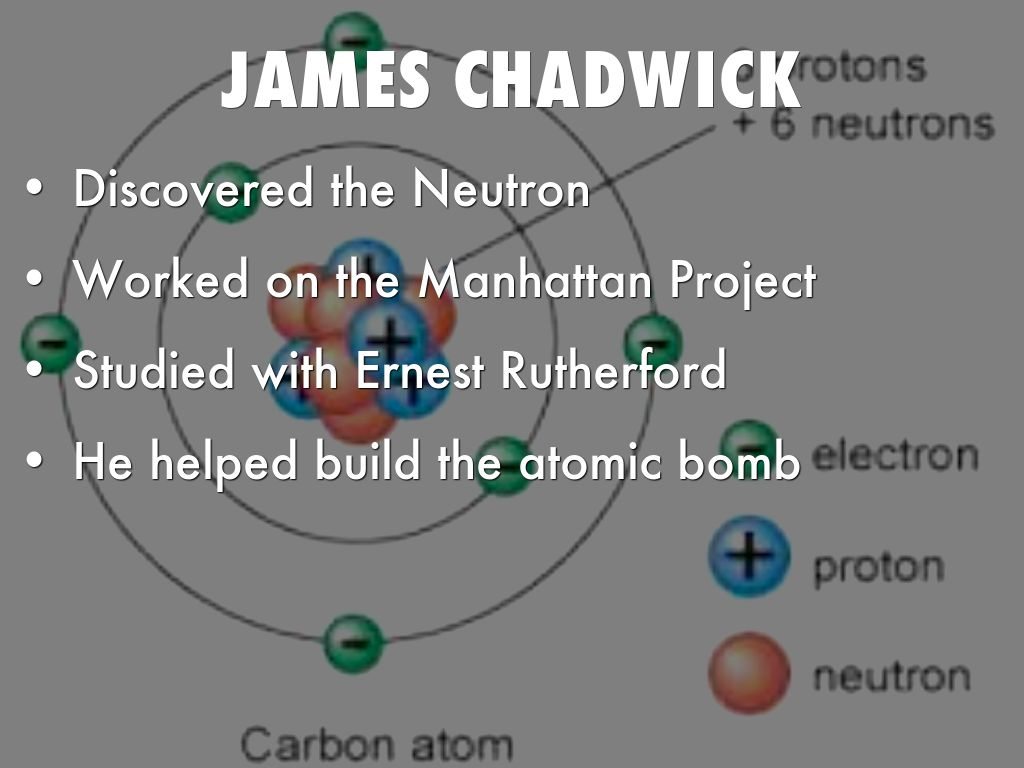 james chadwick atomic model - photo #21
