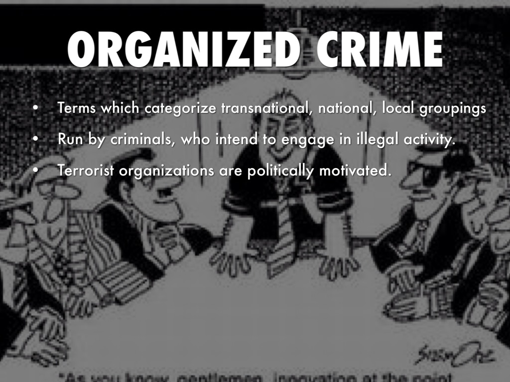 organized crime in the 1920s Prohibition was the ban of alcohol in the united states starting in the 1920s the 18th amendment in 1919 officially banned the manufacturing, distributing, and sales of alcohol the era of prohibition caused a rise in organized crime, bootleggers, and speakeasies.