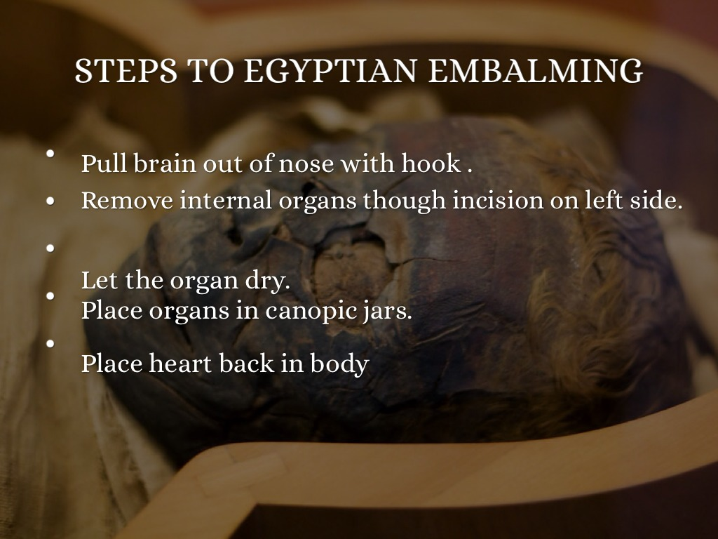 mummification research paper Essay paper on the mummies of egypt but why do we not practice the art of mummification or believe so this is just a free sample of the research paper.