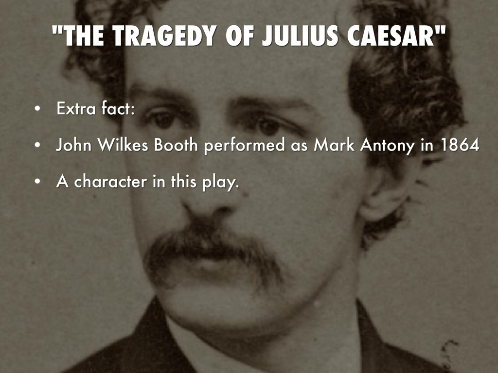 a character analysis of mark anthony from the play the tragedy of julius caesar by william shakespea