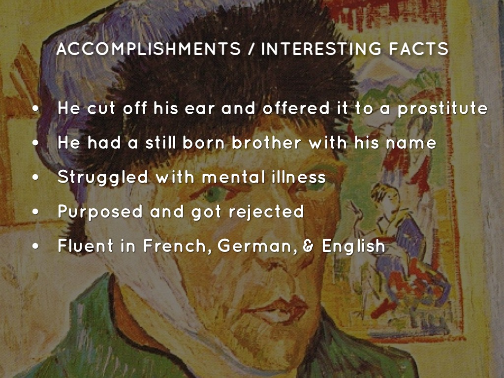 the life and accomplishments of vincent van gogh Van gogh, paintings, art - vincent van gogh's life and accomplishments | 1002123.