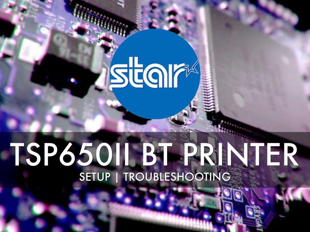 Star Micronics | TSP650ii BT Printer by Ian Keegan