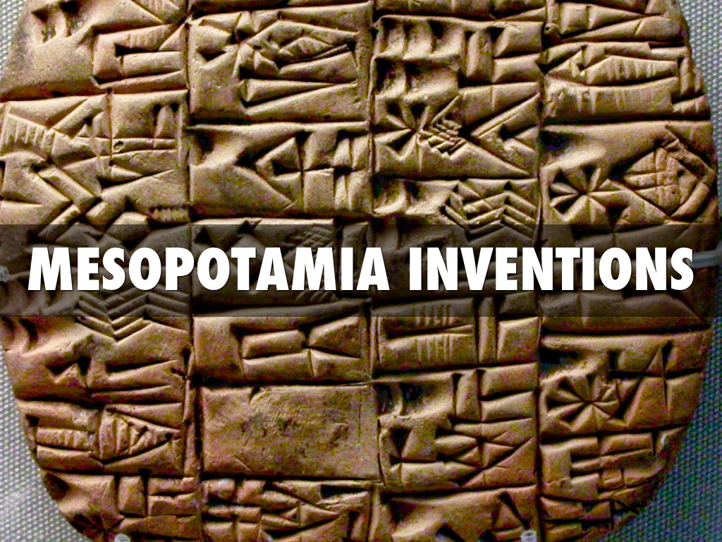 "mesopotamia technology Mesopotamia is in the east side of the region named ""fertile crescent"", were agriculture flourished and the earliest civilizations were born more than eight."