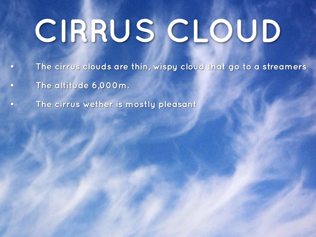 facts on clouds by danielle haner