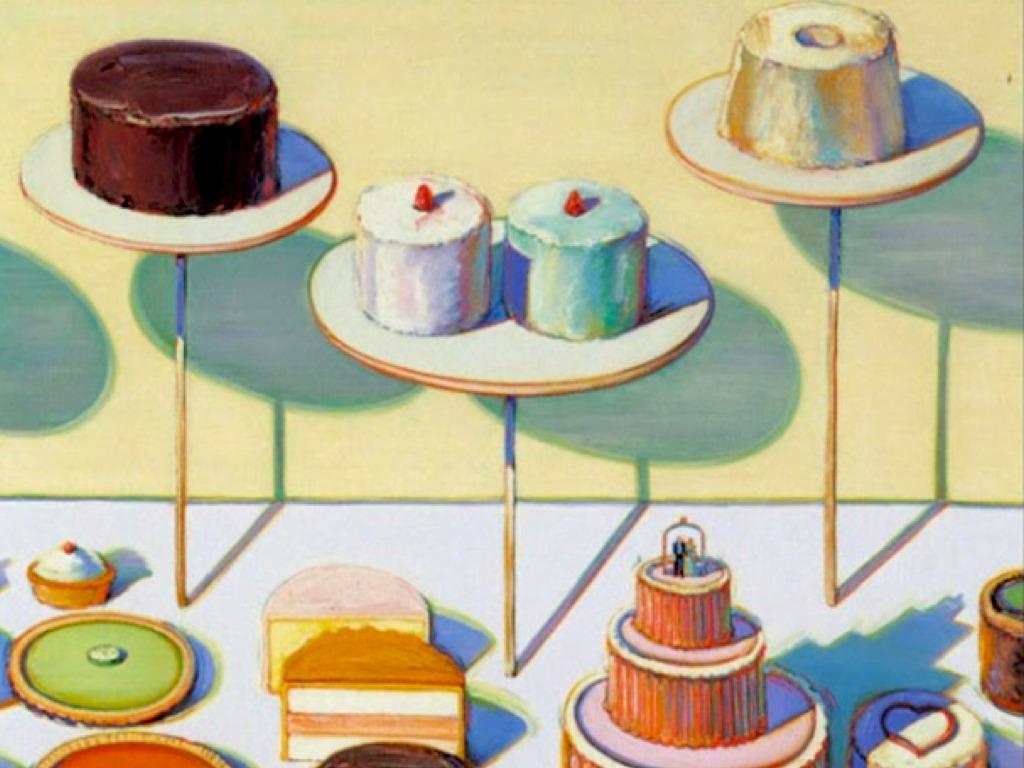 Education For Cake Artist : Wayne Thiebaud s Cakes by Hollie LaRue