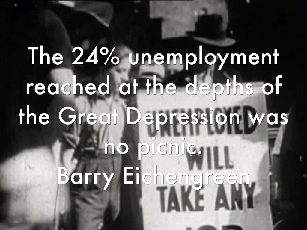 the great depression of the 1930s essay To what extent was the depression of the 1930s in britain a consequence of the wall street crash britain after the first world war was already in an.