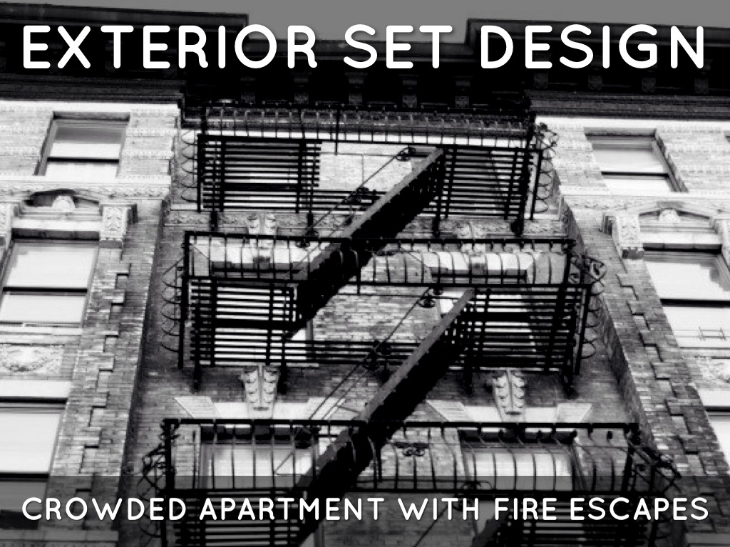 the glass menagerie fire escape