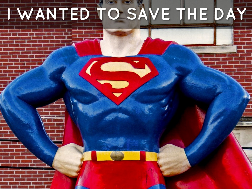 Hi The Superhero That Saves The Day By Becky Busby