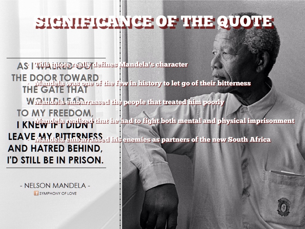descriptive essay of nelson mandela
