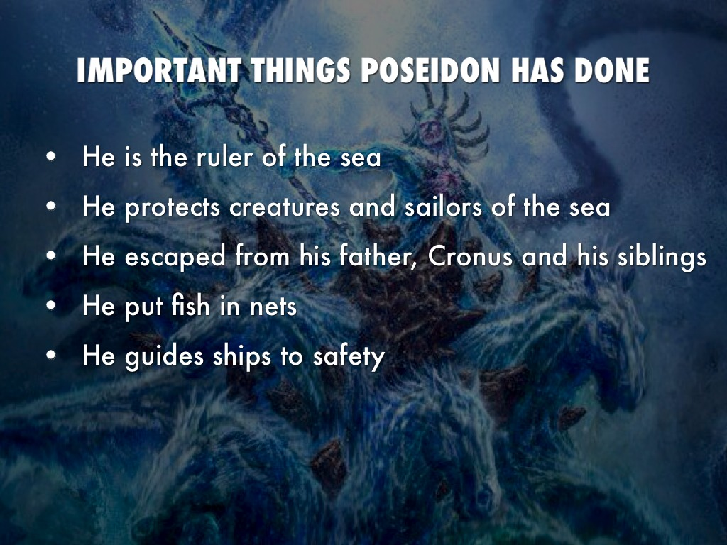 Poseidon Caden Cook By Heara Syed