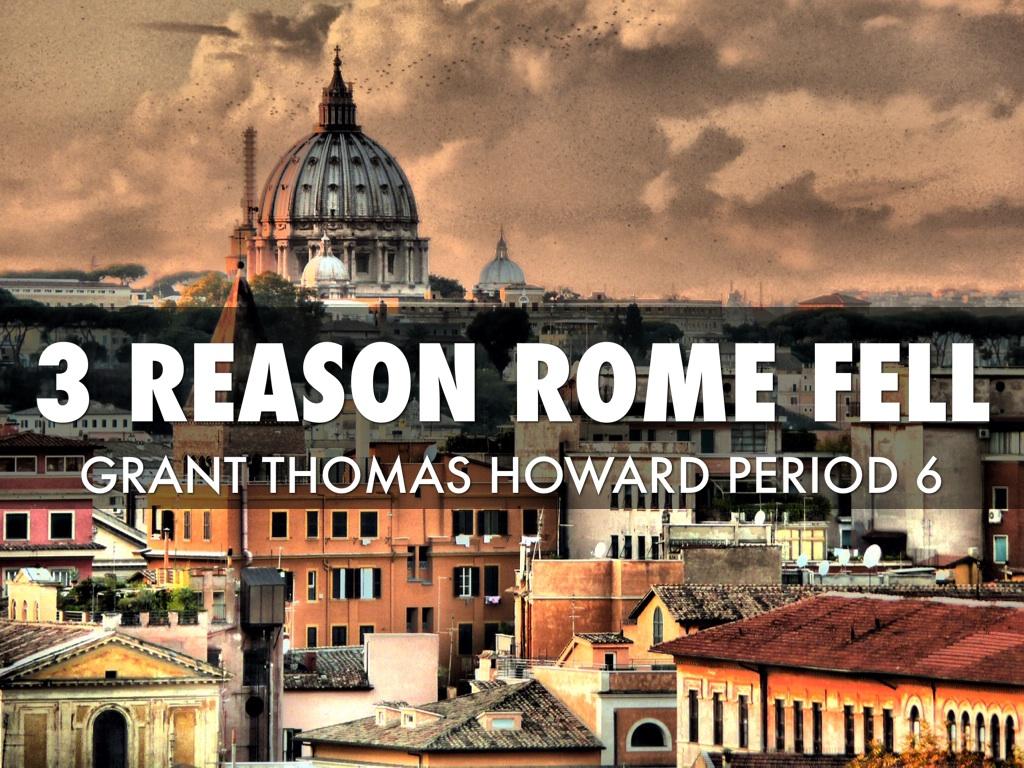 why rome fell