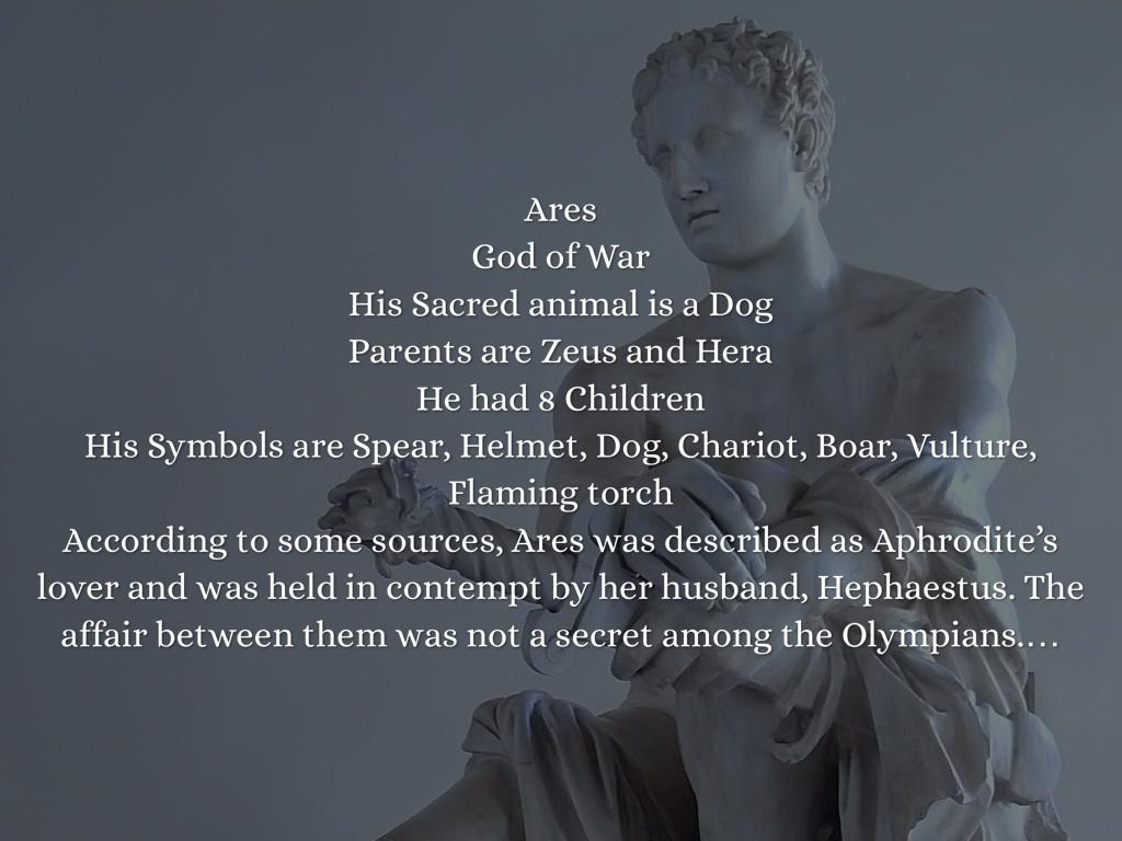 greek gods by imani lilly