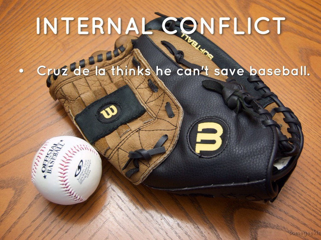 the boy who saves baseball John h ritter tells us what was going on in his mind while writing the boy who saved baseball 'this is a story of invasion.
