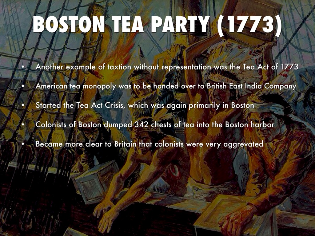 the boston teaparty and american revolution essay This free boston tea party lapbook is a great addition to your american revolution study of history it includes booklets about the loyalists and patriots, taxe.