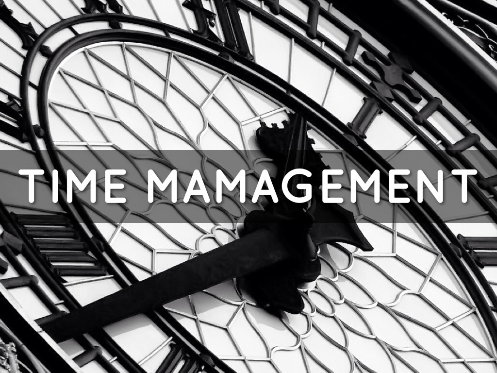 Time Management By Vanessa Salinas