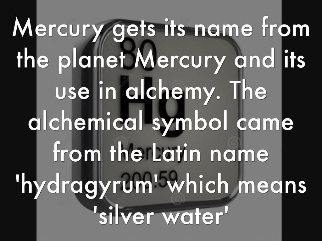 Mercury by anisa kidd wilkerson mercury and its compounds are very poisonous it is readily absorbed across unbroken skin or through the respiratory tract an electrical discharge can buycottarizona Choice Image