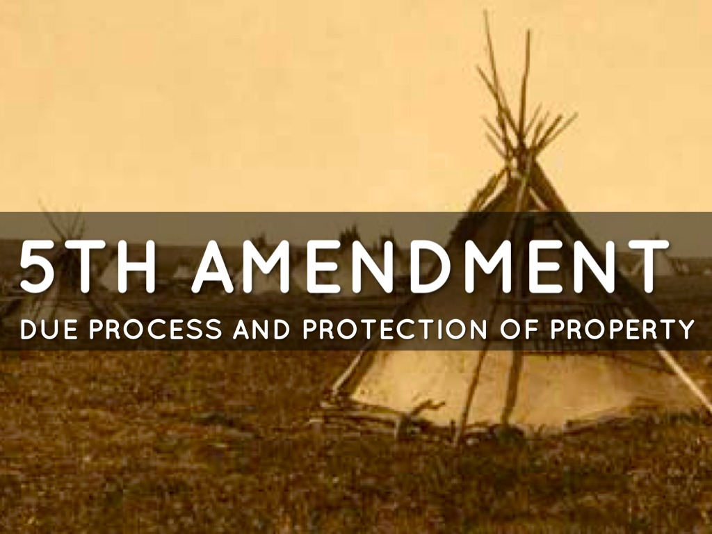 US Constitution - 5th and 14th Amendments