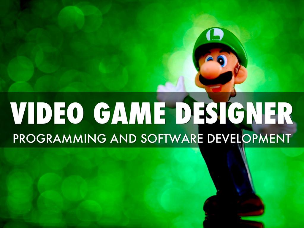 Video Game Designer Parker K By Parker K