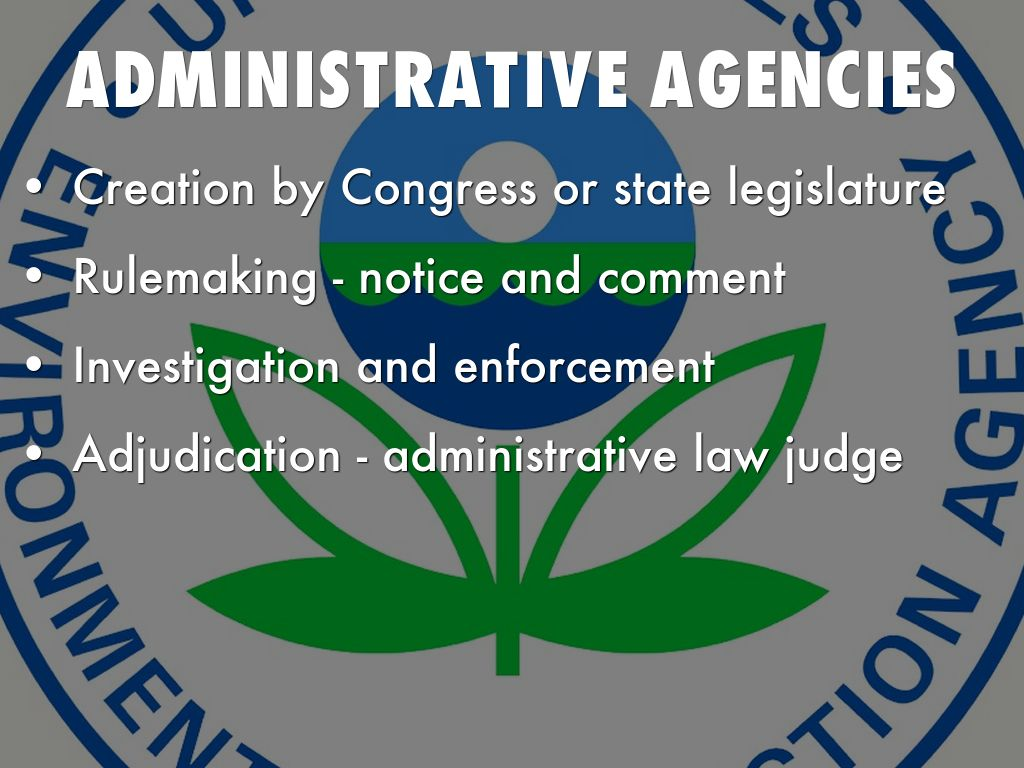administrative agency The official website of the state of new york find information about state government agencies and learn more about our programs and services.