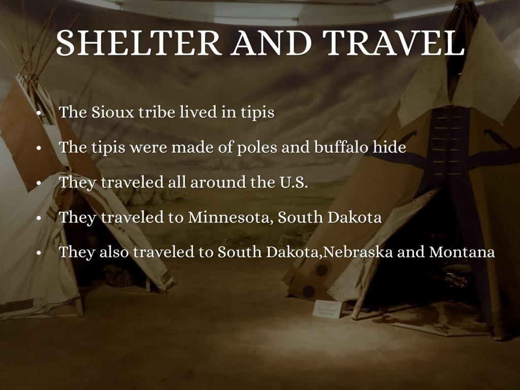 The Sioux Tribe by Brianna Villanueva