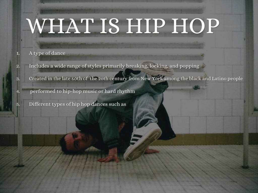 Filipino hiphop presentation.
