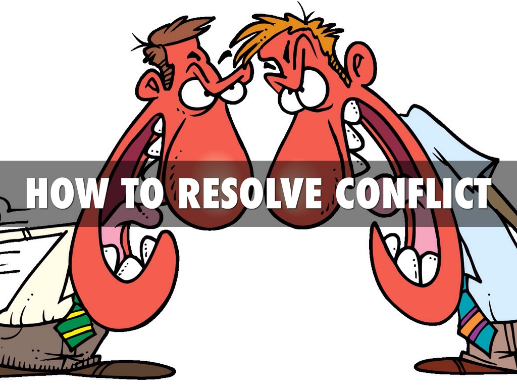 resolving conflict Expert reviewed how to resolve a conflict at work three parts: approaching the conflict talking it over creating solutions community q&a you might experience conflict in the workplace for a variety of reasons, including promotion opportunities, salary disputes, feeling a lack of appreciation, and personal differences.