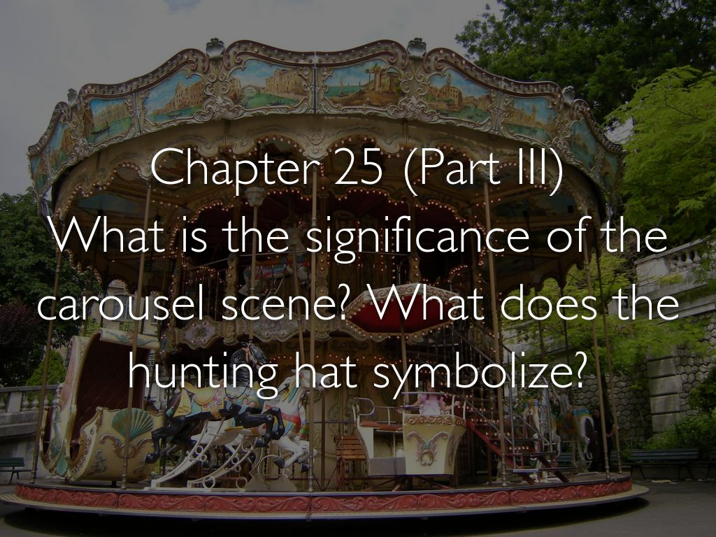 catcher in the rye chapter 25