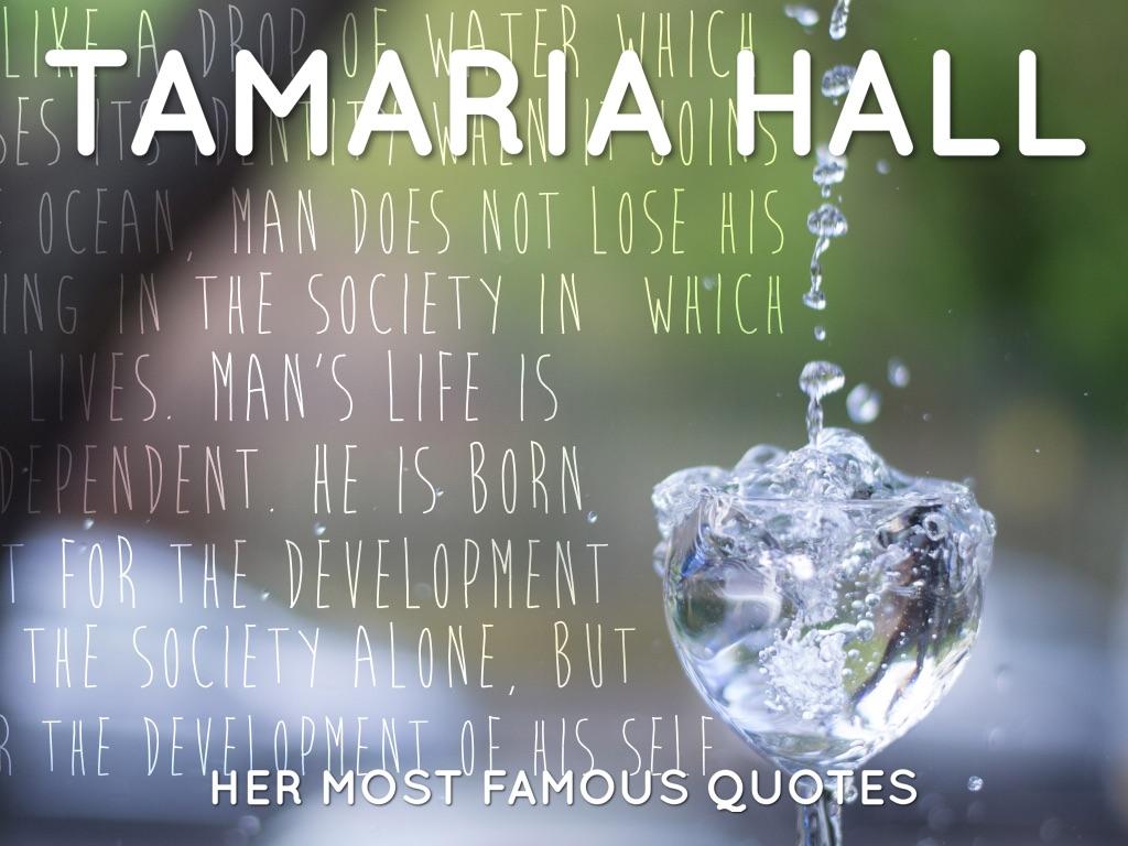 TaMaria's Quotes