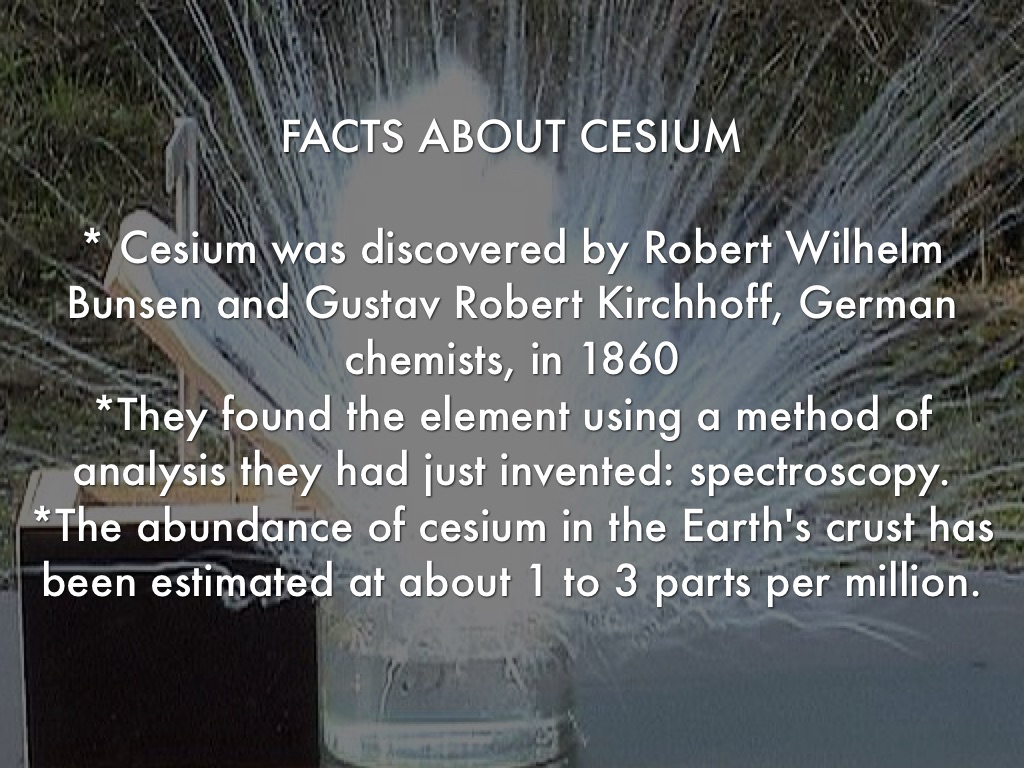 Cesium by Ana Lucia