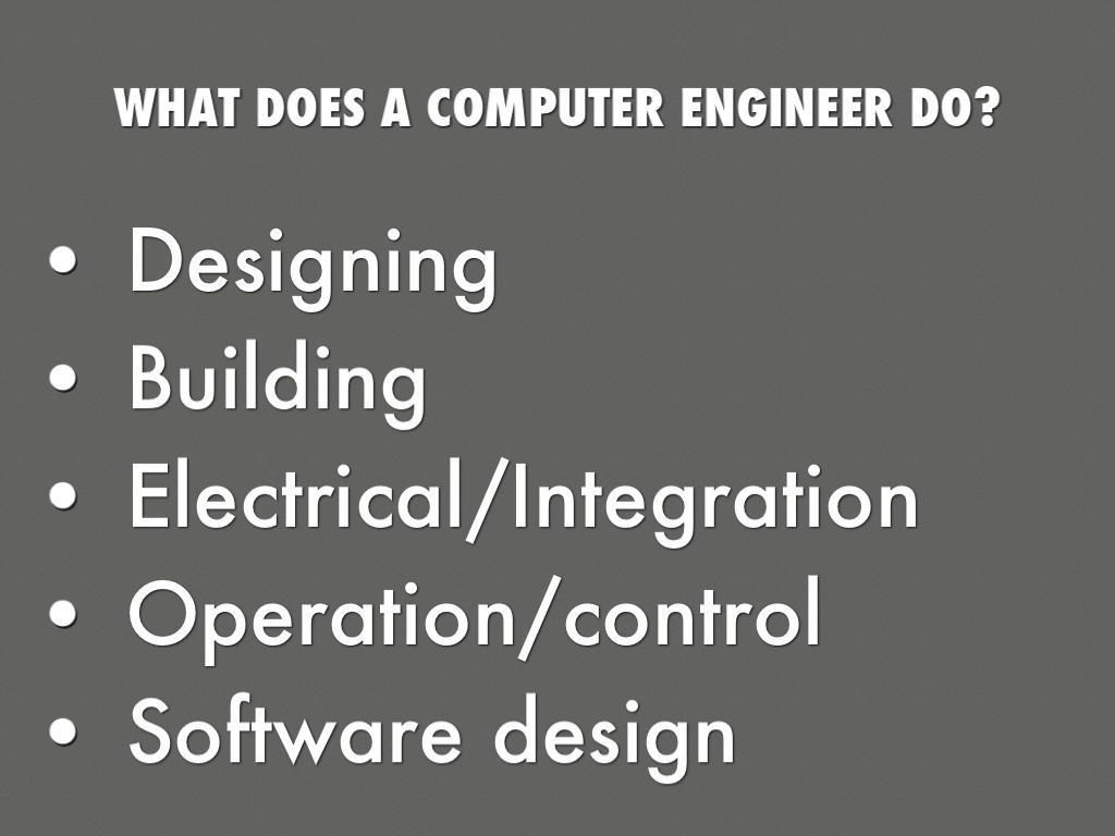 computer engineering culminating 1 The primary mission of computer science is to prepare students for  one year each of high school geometry and physics, as well as basic knowledge of  provide depth in a chosen area and in the work done for the culminating experience.