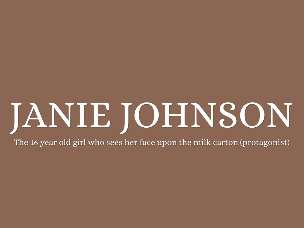 face on the milk carton Directed by waris hussein with kellie martin, sharon lawrence, edward herrmann, richard masur a teenage girl sees a photograph of herself one day in the school cafeteria - on a missing persons column on the side of a milk carton.