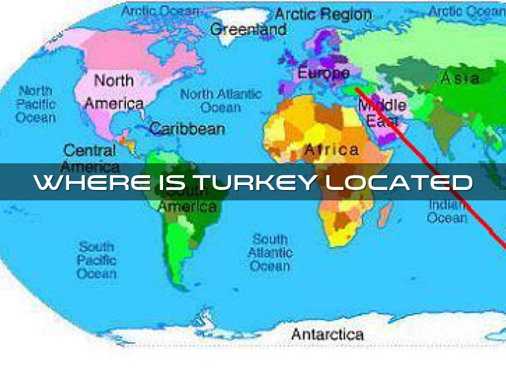 Ag Project By Samuel Perez - Where is turkey located