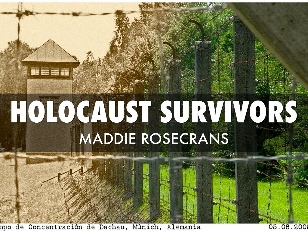 Effects of the holocaust on survivors