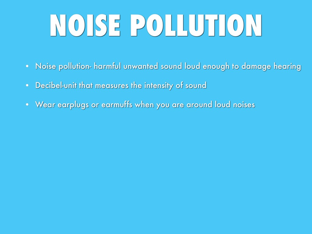 noise that annoys regulating unwanted sounds The presence of unwanted sound is a called noise pollution this unwanted sound can seriously damage and effect physiological and psychological health the meaning listeners attribute to the sound influences annoyance, so that, if listeners dislike the noise content, they are annoyed.