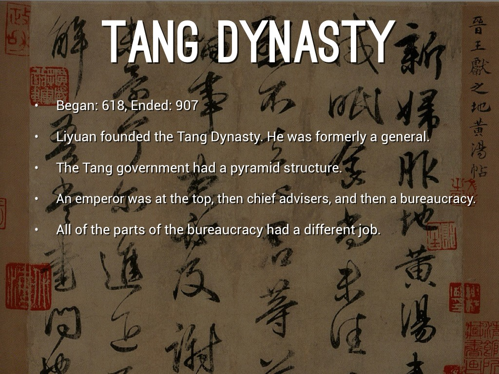 an analysis of the differences between bureaucrats and aristocrats in the tang dynasty government