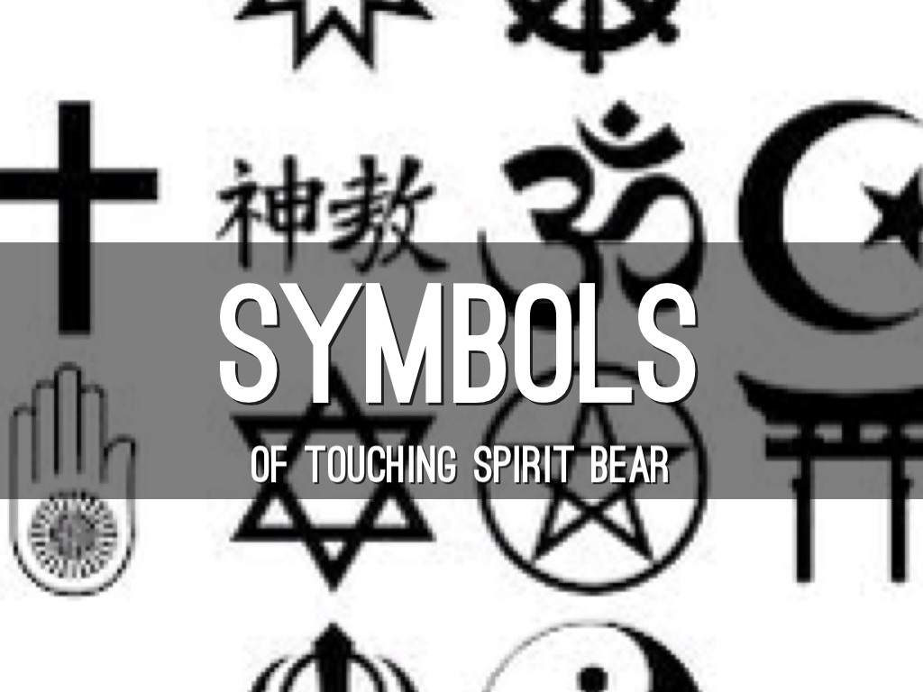 Touching Spirit Bear Symbols By Maddie Holicky