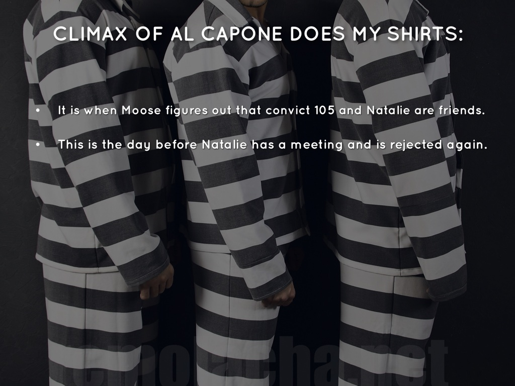 thesis for al capone does my shirts