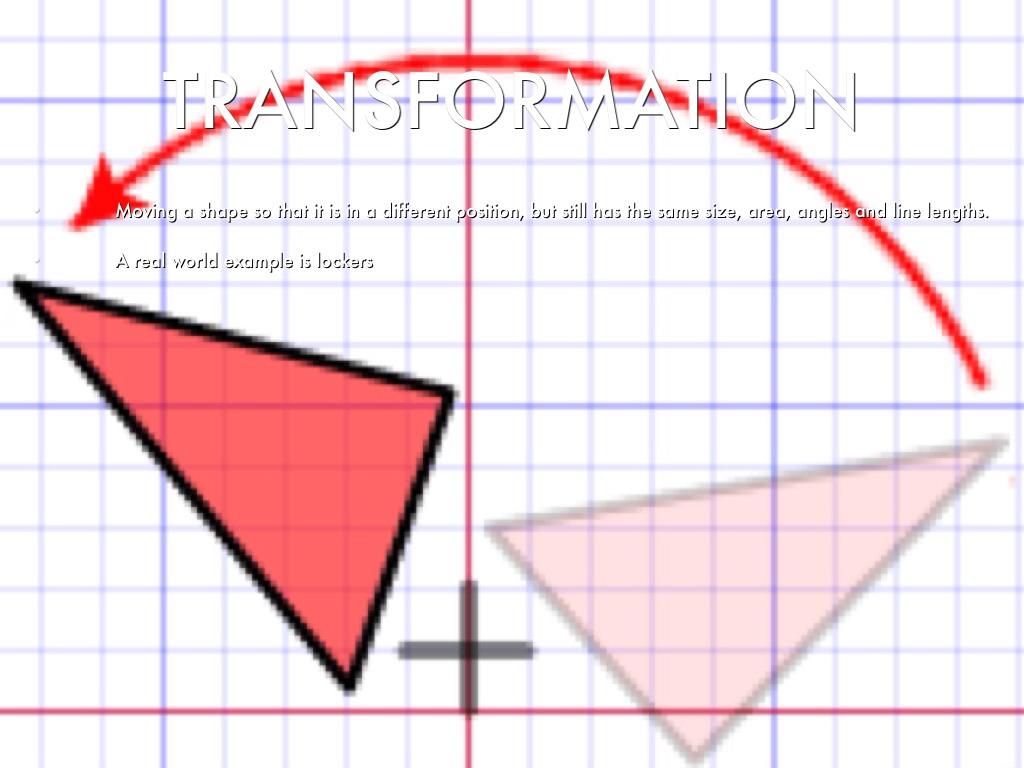 transformation geometry essay