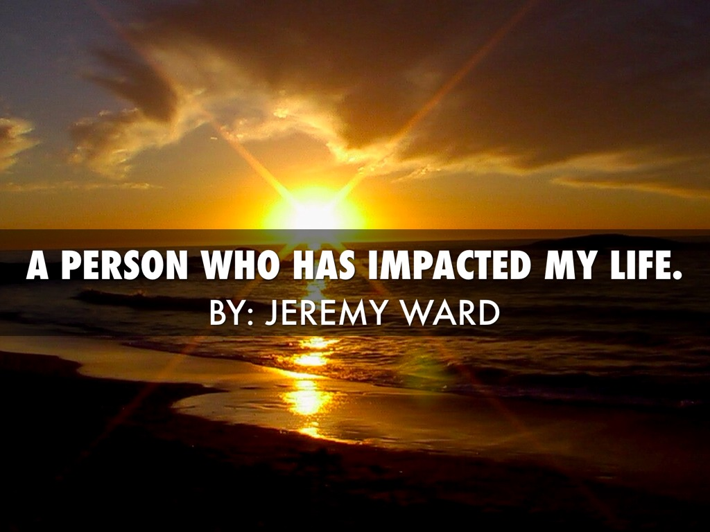 Impacted person